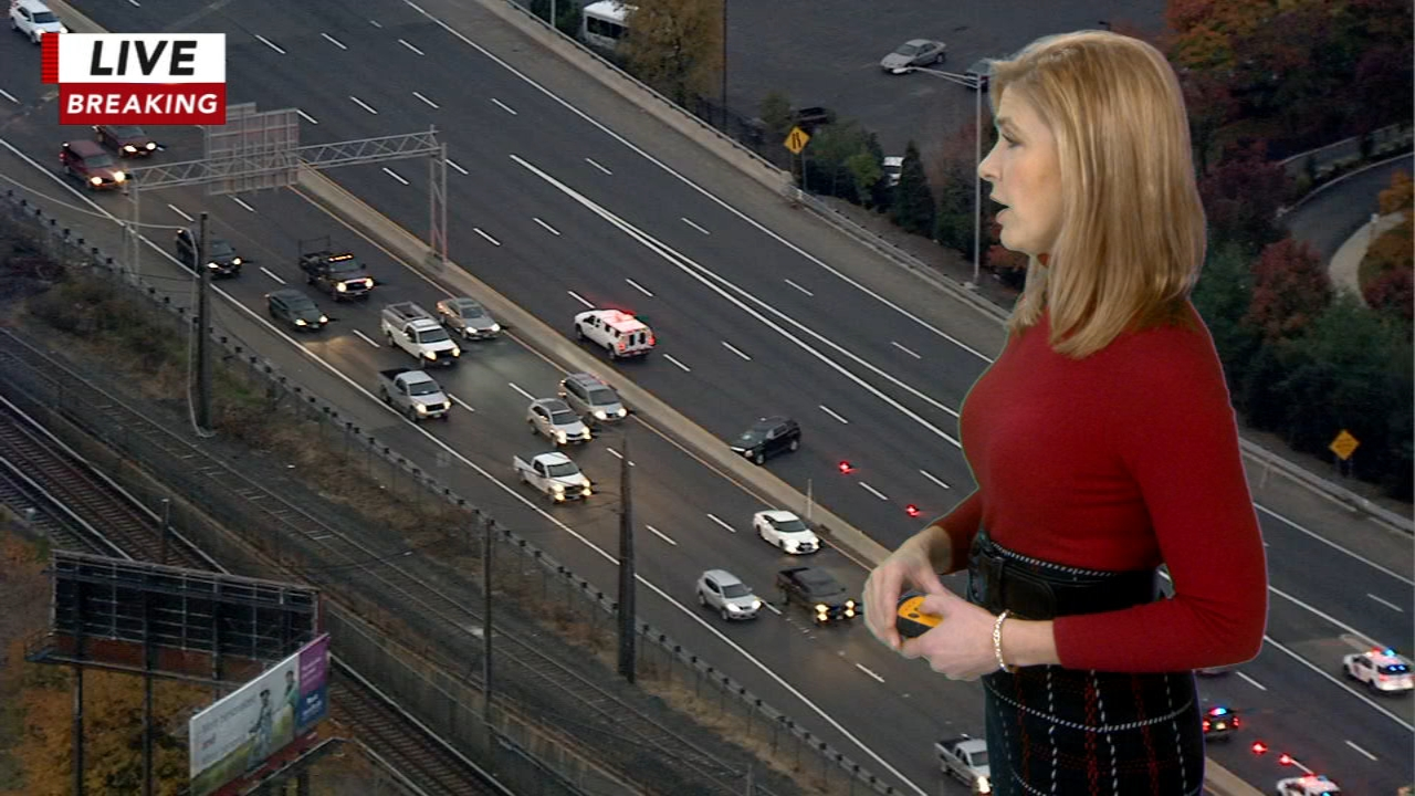 Pedestrian struck while crossing I-676. Karen Rogers reports during Action News Mornings on November 12, 2018.