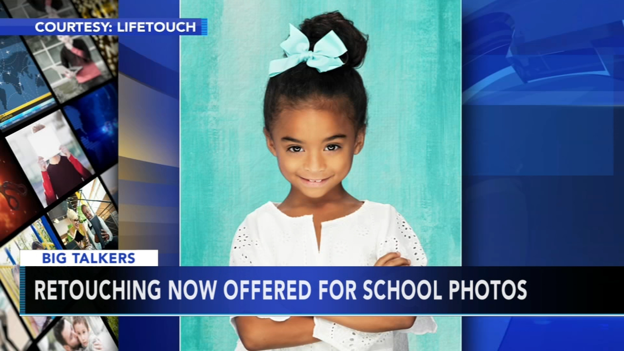 Its school picture time and the big question for parents this year: should you retouch your childs photos?