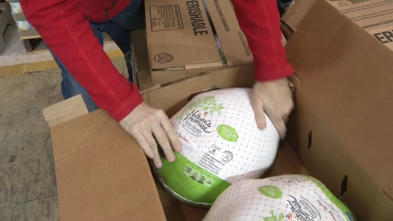 A big donation will go a long way in making sure Delaware residents have a meal on the table this Thanksgiving as reported during Action News at 6 on November 12, 2018..