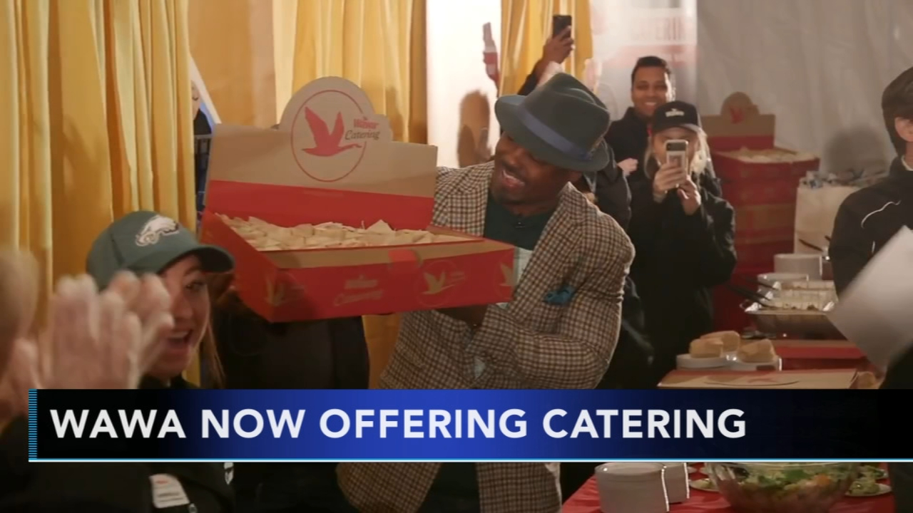 Wawa now offers catering. Brian Taff reports during Action News Mornings on November 13, 2018.