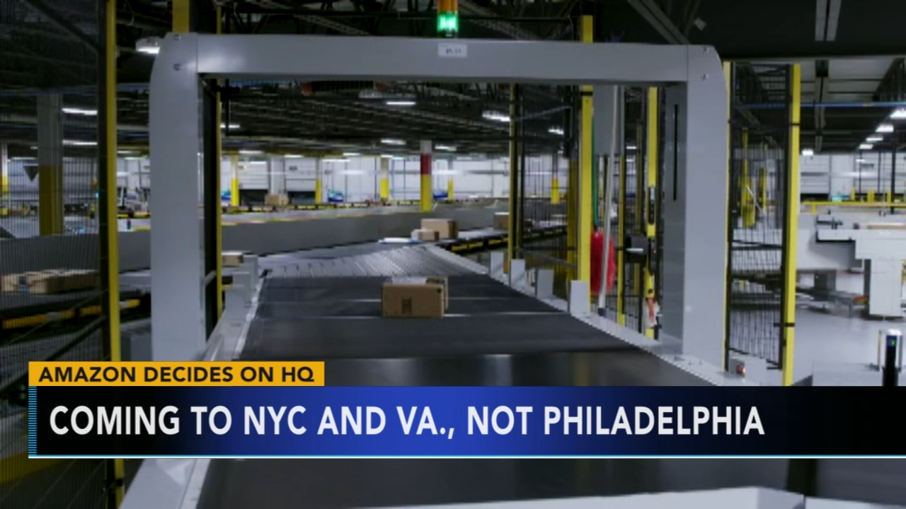 Amazon chooses NYC, VA for new HQ. Rick Williams reports during Action News at Noon on November 13, 2018.