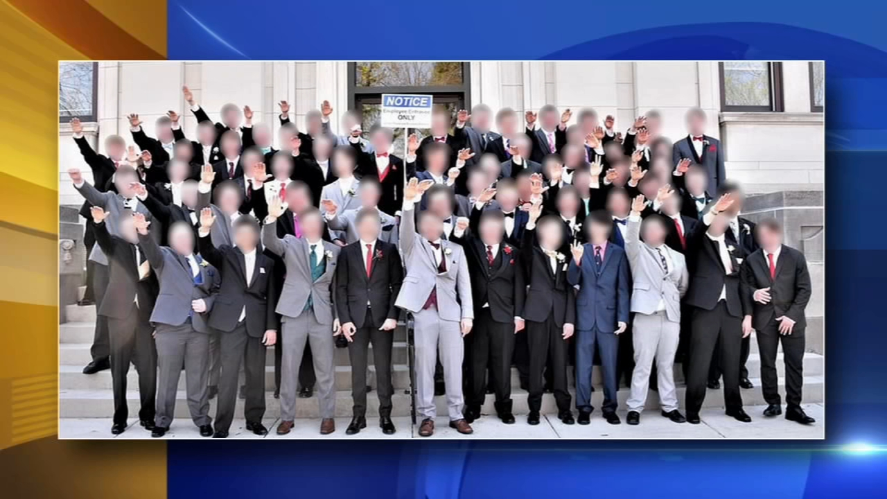 High school boys give apparent Nazi salute in prom photo. Matt ODonnell reports during Action News Mornings on November 13, 2018.