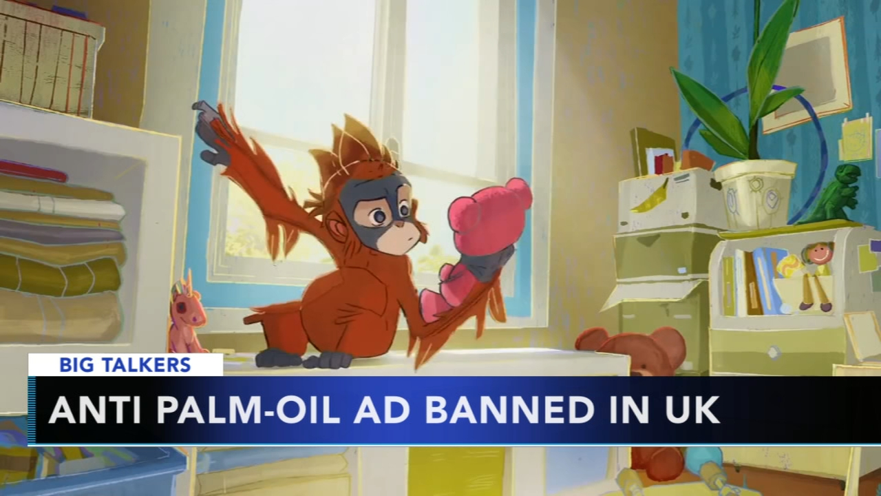 British supermarket ad featuring orangutan banned from TV. Watch the report from Action News at 4:30 p.m. on Nov. 13, 2018.