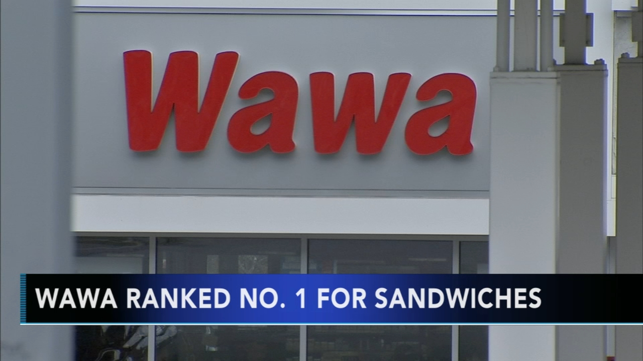 Wawa ranked No. 1 in sandwich survey. Matt ODonnell reports during Action News Mornings on November 14, 2018.
