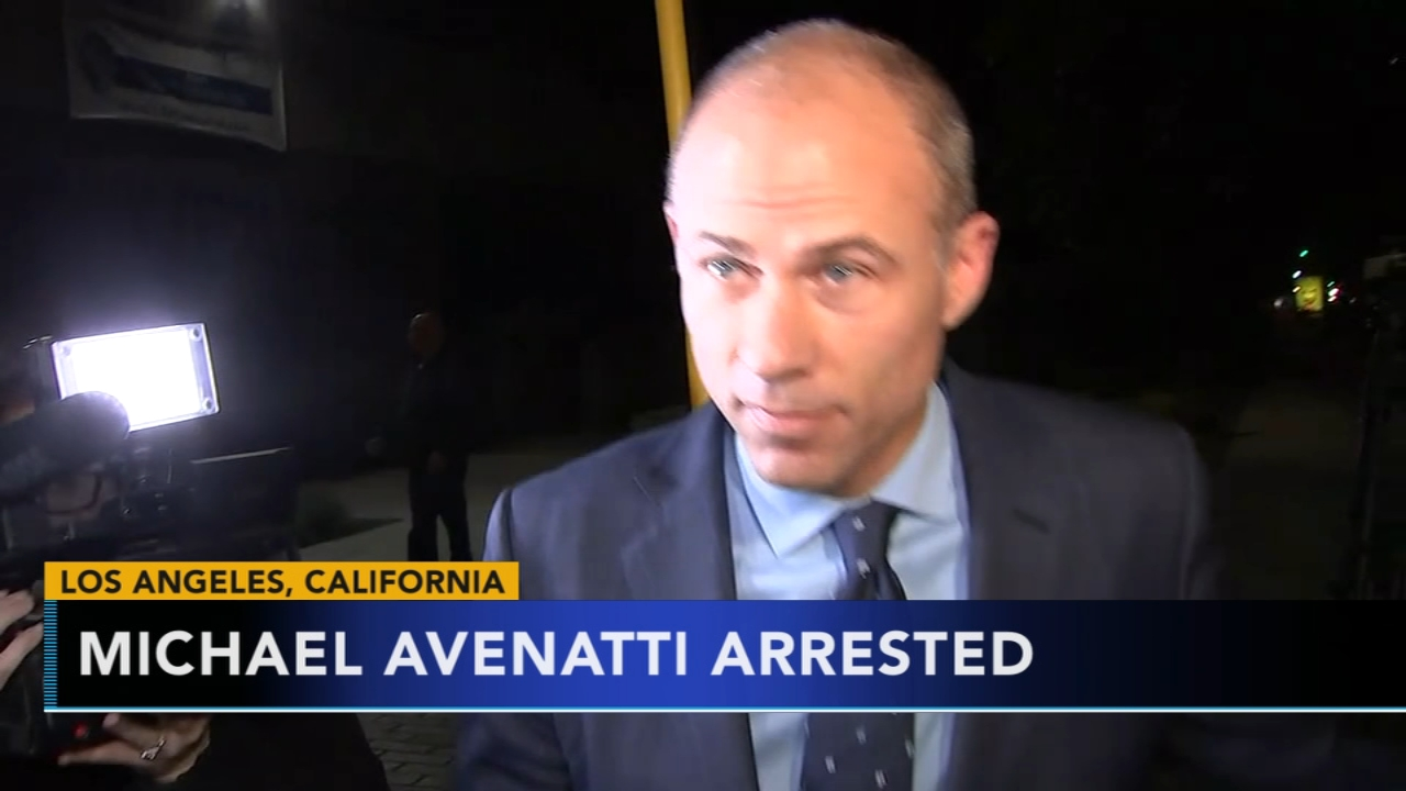 Michael Avenatti was arrested on suspicion of domestic violence in Los Angeles as reported during Action News at 11 on November 14, 2018.