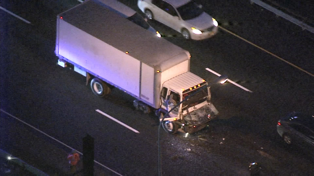Truck crash on I-95. Karen Rogers reports during Action News Mornings on November 14, 2018.
