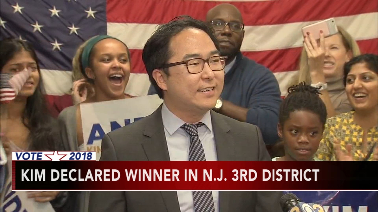 Newcomer Andy Kim beats GOP Rep. MacArthur in New Jersey. Brian Taff reports during Action News at 4 p.m. on November 14, 2018.