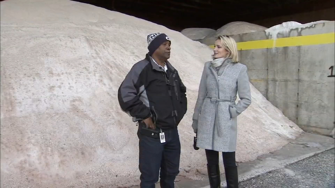 PennDOT prepares for wintry weather. Maggie Kent reports during Action News at 4pm on November 14, 2018.