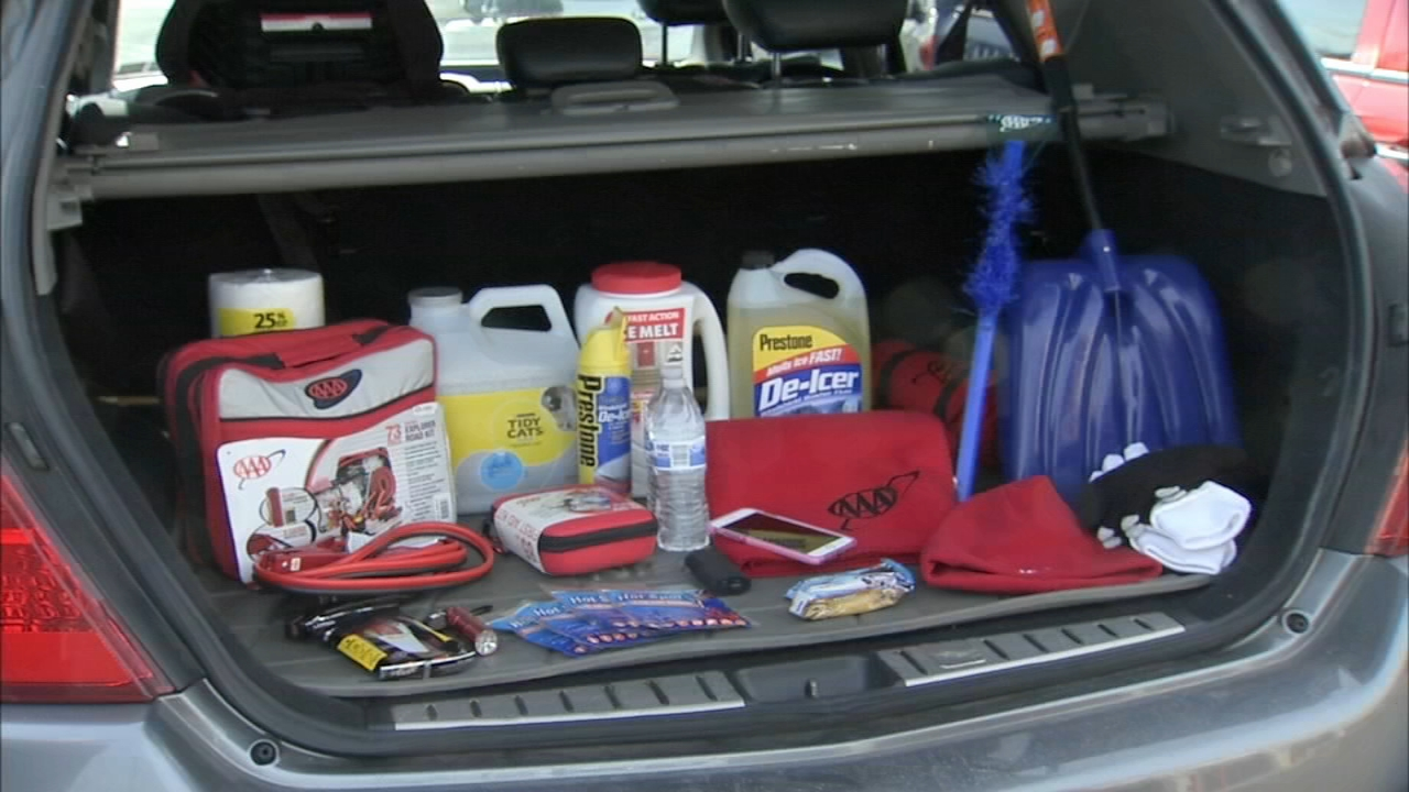AAA recommends you have these items in your car during a winter storm. Watch the report from 6abc.com on November 15, 2018.