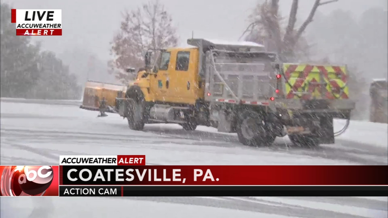 PennDOT readies for snow, icy covered roads. Maggie Kent reports during Action News at 12 p.m. on November 15, 2018.