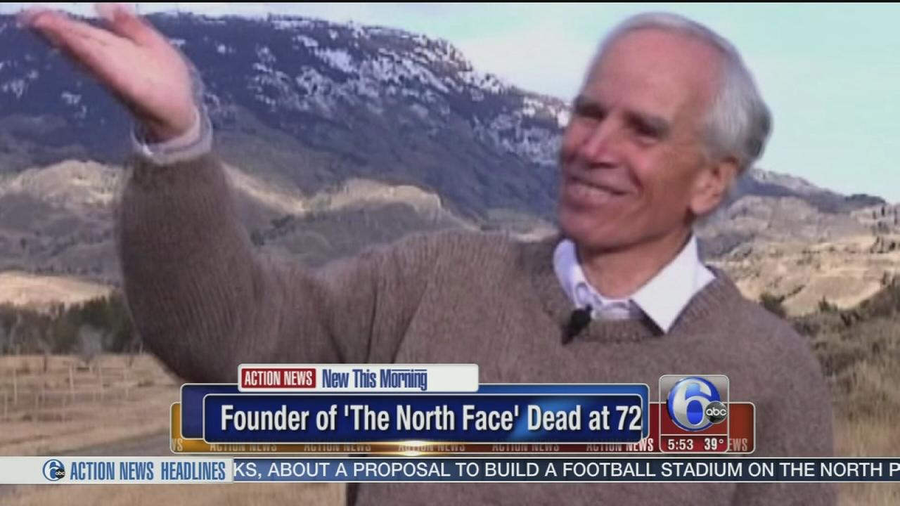 VIDEO: North Face founder dies