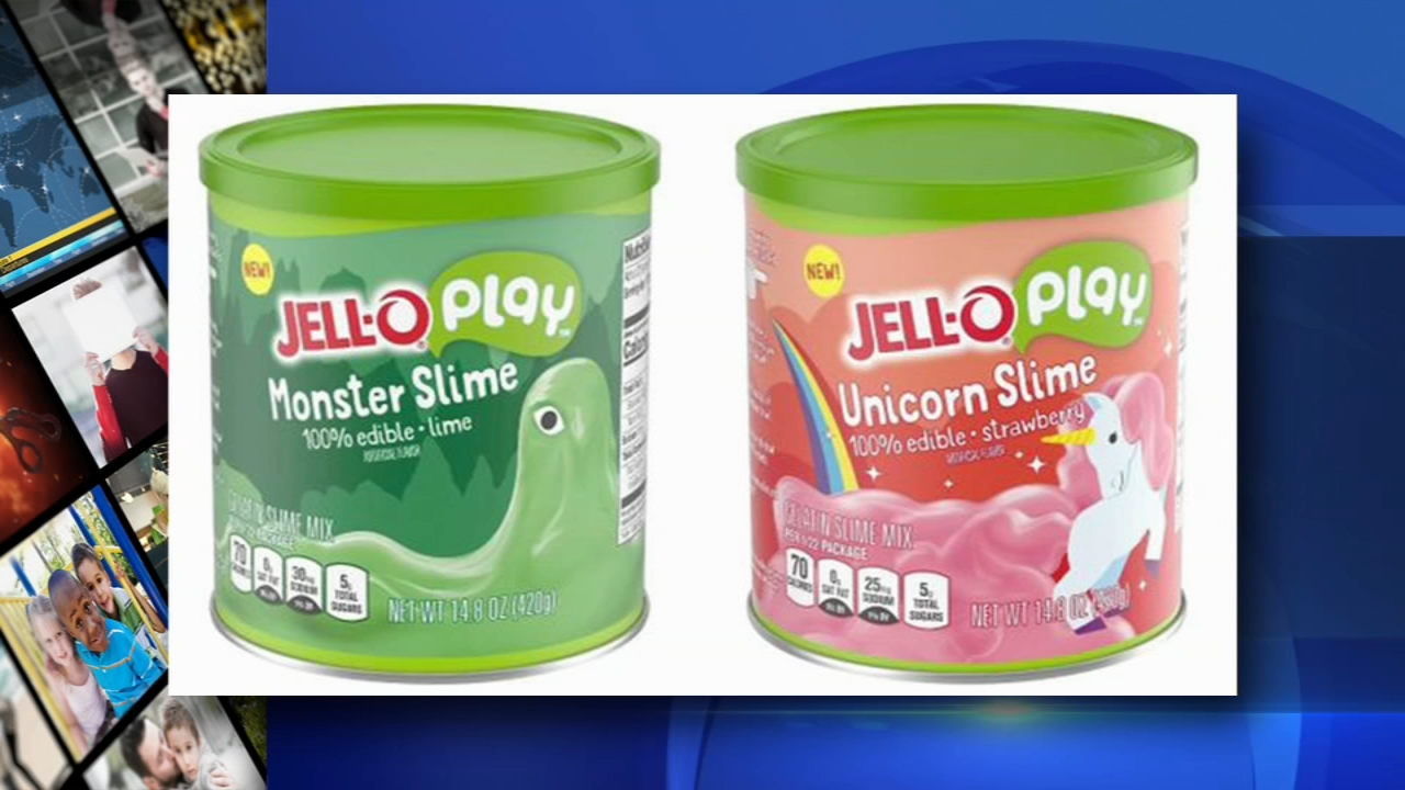 Jell-O releases edible slime you can play with and eat. Alicia Vitarelli reports during Action News at 4 p.m. on November 16, 2018.
