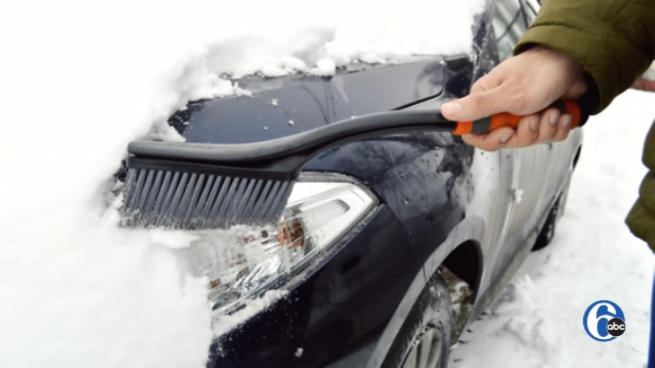 Clean the snow off your car or pay a fine. Watch the report from 6abc.com on November 16, 2018.