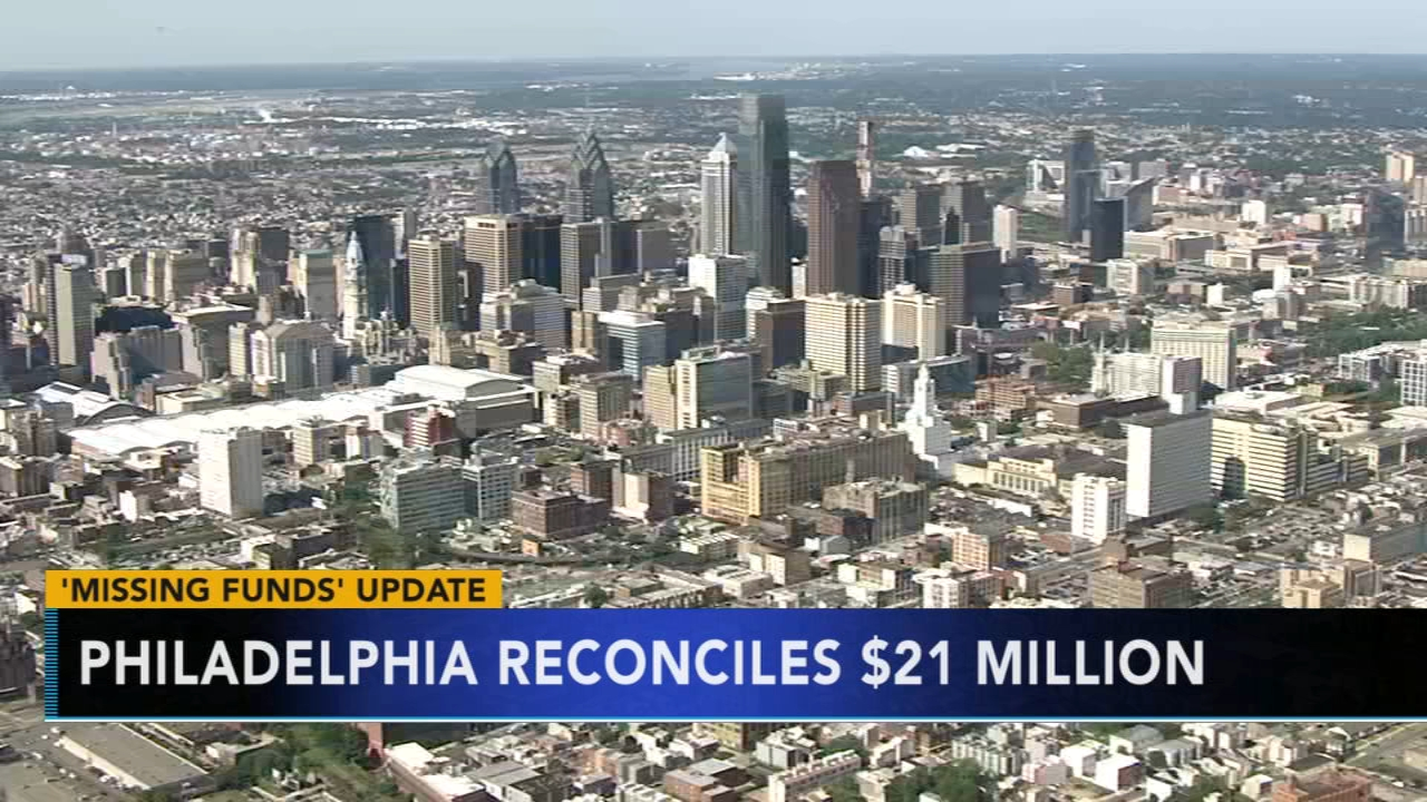 Philadelphia reconciles $21 million in missing funds. Jim Gardner reports during Action News at 6 p.m. on November 16, 2018.