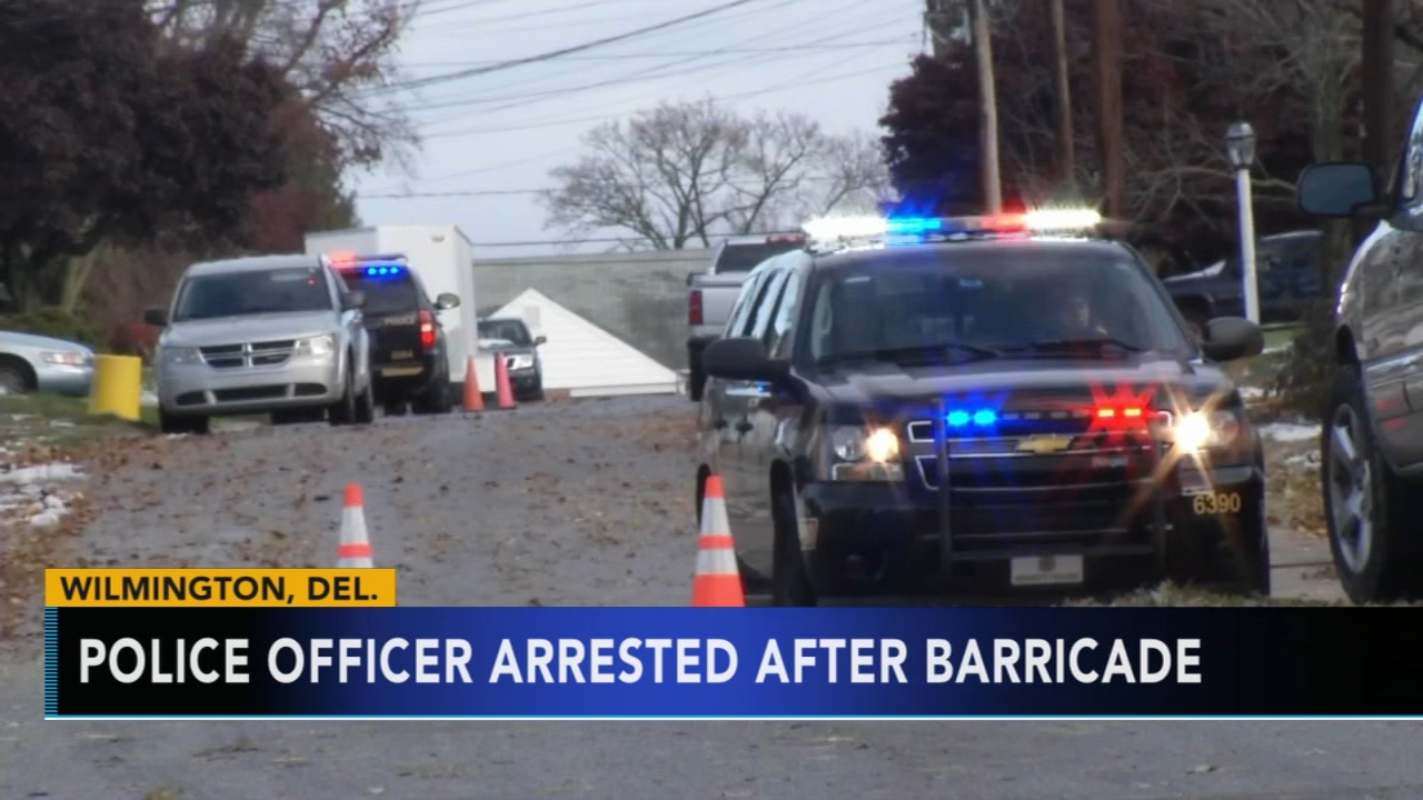 Wilmington, Delaware police officer charged after standoff. Watch this report from Action News at 4pm on November 16, 2018.