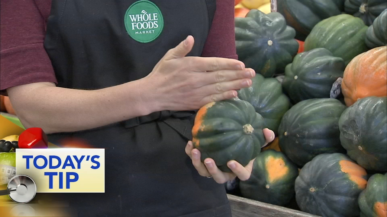 Kathleen from Whole Foods shows you how to use acorn squash this Thanksgiving.