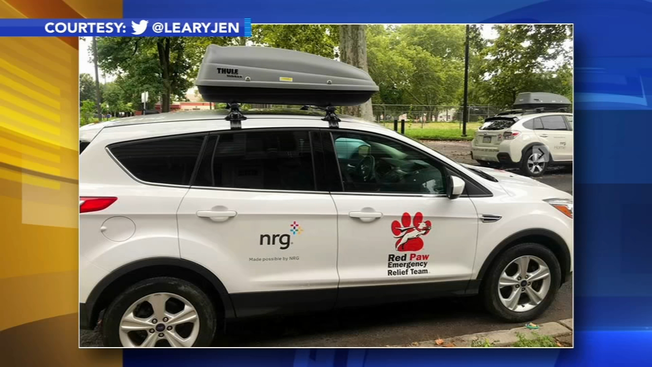 Red Paw Relief equipment stolen in Northeast Philadelphia. Gray Hall reports during Action News at 4:30pm on November 16, 2018.