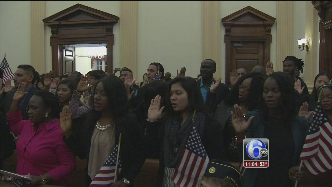 VIDEO: New American citizens