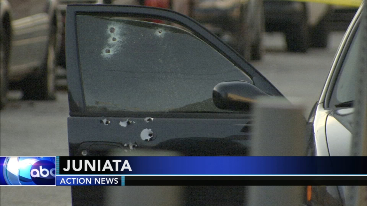 Man killed in shooting in citys Juniata section. Walter Perez reports during Action News at 10 p.m. on November 17, 2018.