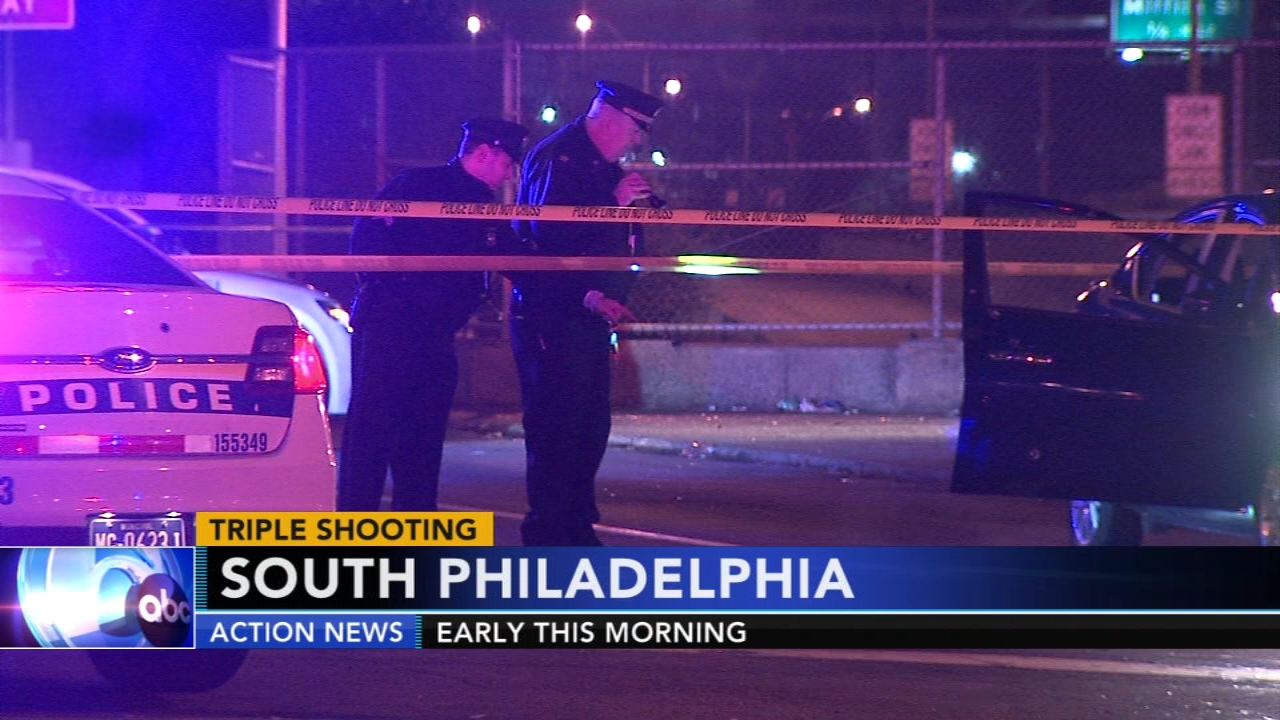 Triple shooting leaves one dead in South Philadelphia. Walter Perez reports during Action News at 10 p.m. on November 17, 2018.