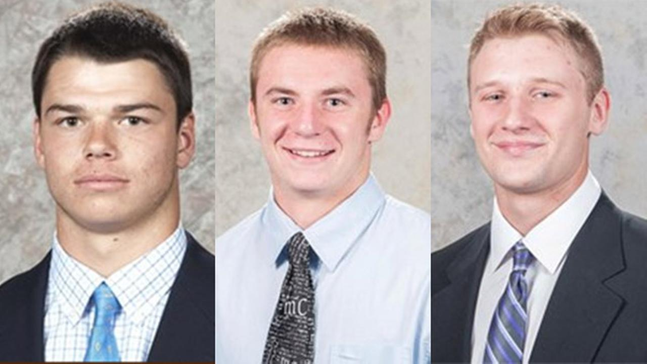 Police say seven Lehigh University football players have been charged in an off-campus break-in meant as revenge, but they targeted the wrong northeastern Pennsylvania home.
