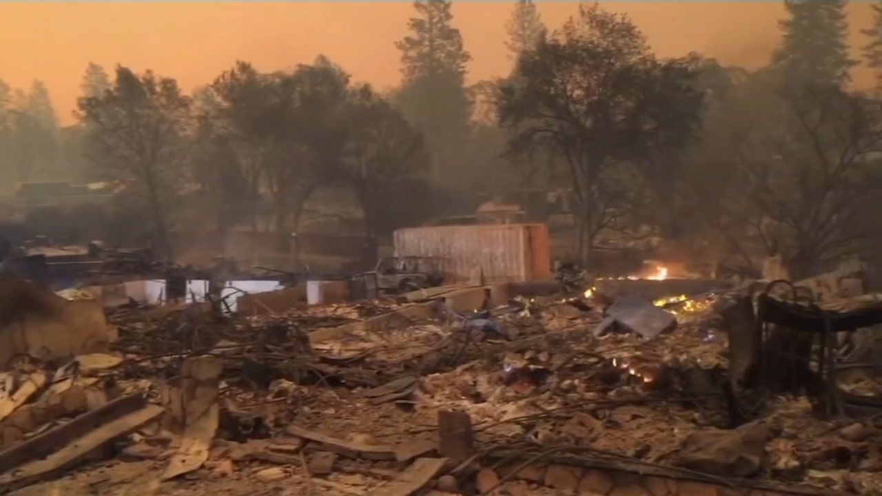 Death toll rises to 76 in Northern California fire with winds ahead. ABC News reports during Action News at 6 a.m. on November 18, 2018.