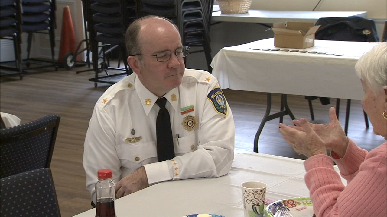 Bellmawr police hold coffee with a cop event: As seen on Action News at 10 p.m., November 18, 2018