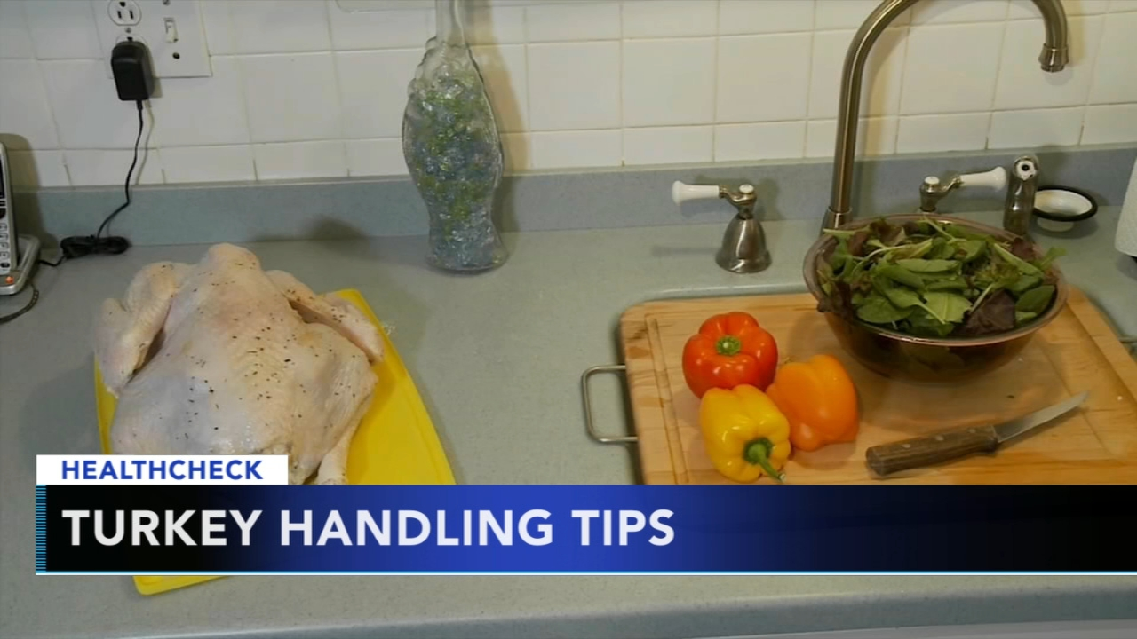 CDC offers tips for your holiday turkey amid salmonella outbreak. Gray Hall reports during Action News at 9 a.m. on November 18, 2018.