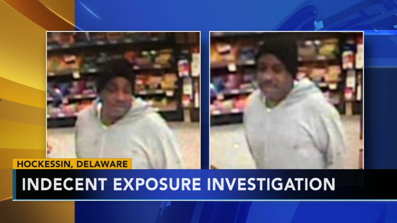 Police search for man who allegedly exposed self in Wawa: as seen on Action News at 11 p.m., November 18, 2018