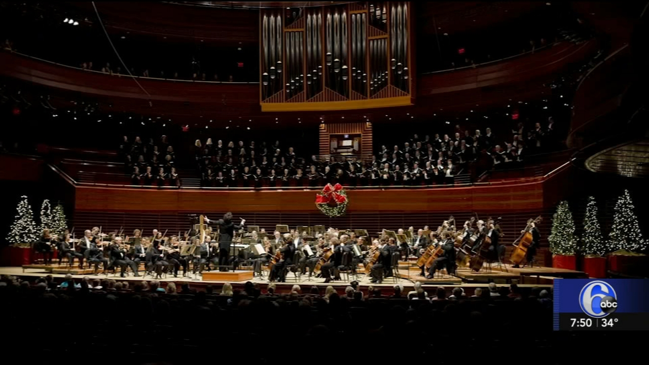 The Philly Orchestra presents Yannick Conducts Messiah. Karen Rogers reports during Action News at 7 a.m. on November 18, 2018.
