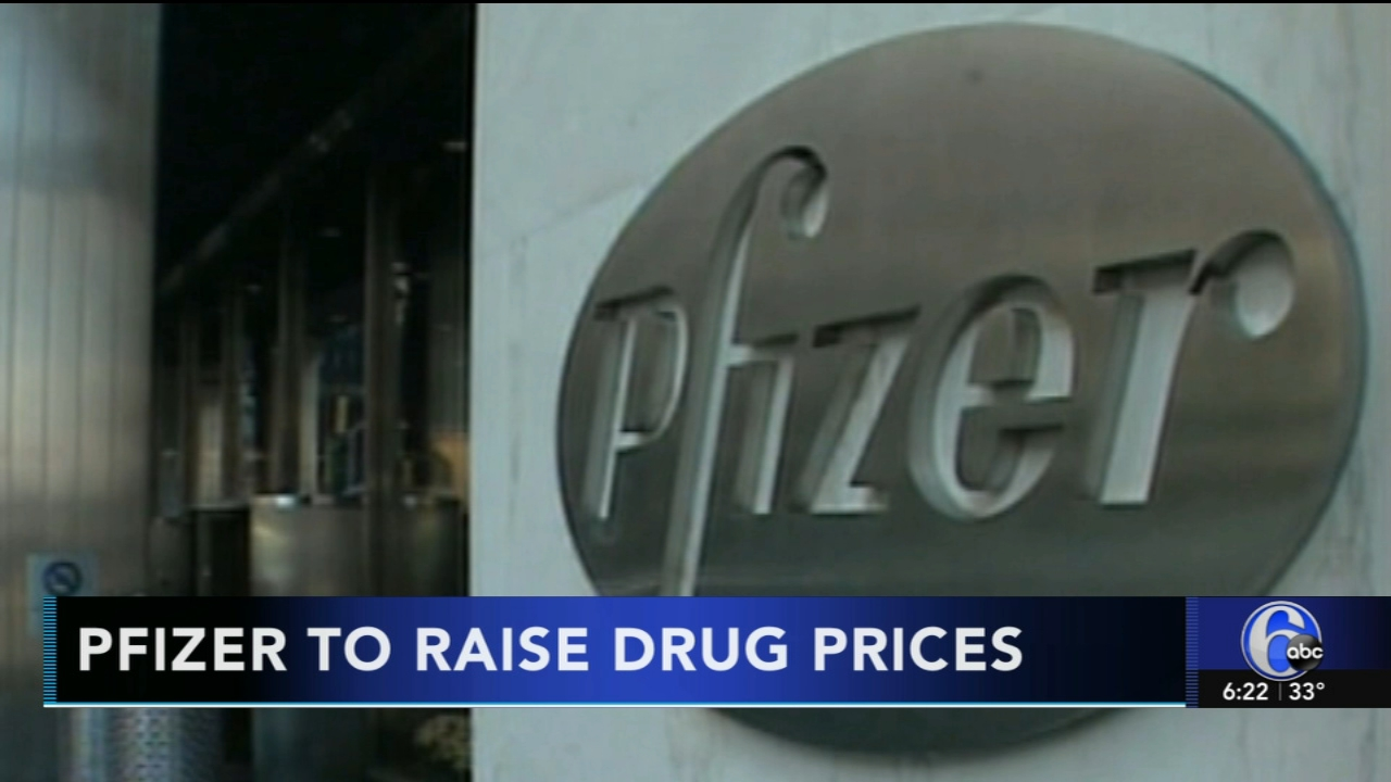 Pfizer to raise drug prices beginning in January. Gray Hall reports during Action News at 6 a.m. on November 18, 2018.