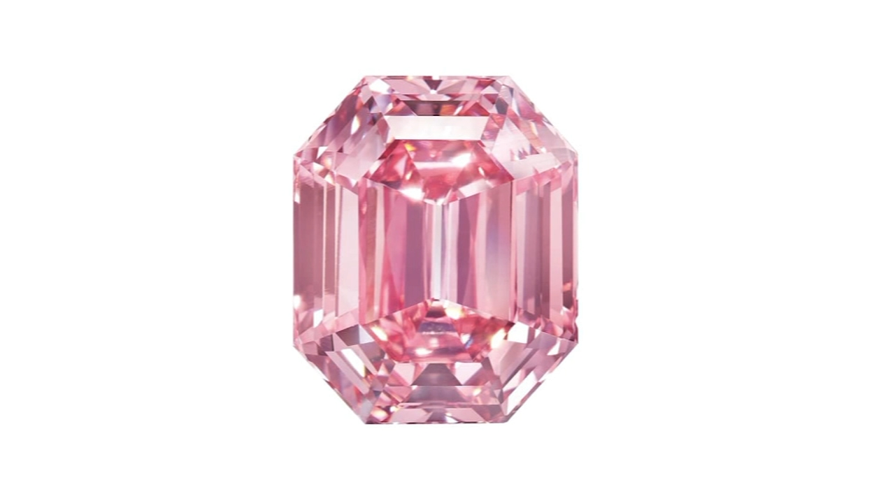 Pink Legacy diamond sells for $50 million at auction. Gray Hall reports during Action News at 10 a.m. on November 18, 2018.