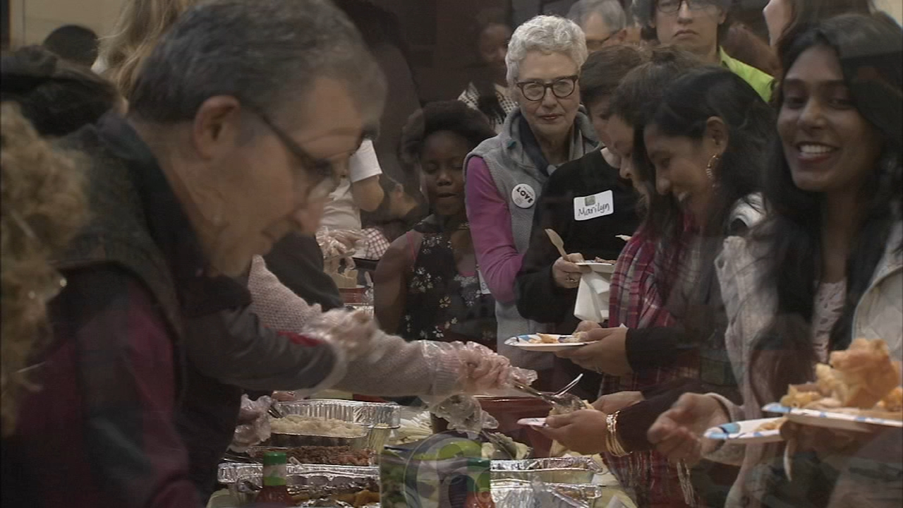 Refugees gather in Society Hill to celebrate their first Thanksgiving in America: Trish Hartman reports on Action News at 10 p.m., November 18, 2018