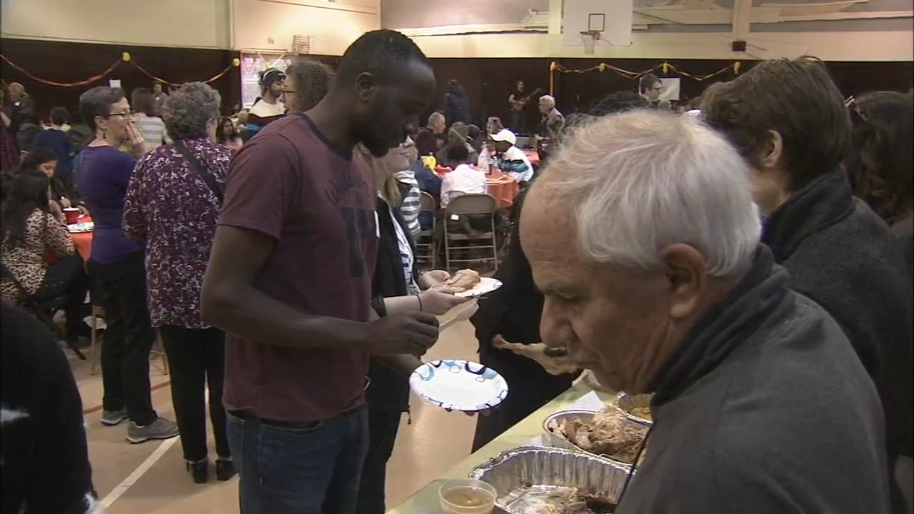 10th annual Refugee Thanksgiving in Society Hill: Trish Hartman reports on Action News at 6 p.m., November 18, 2018