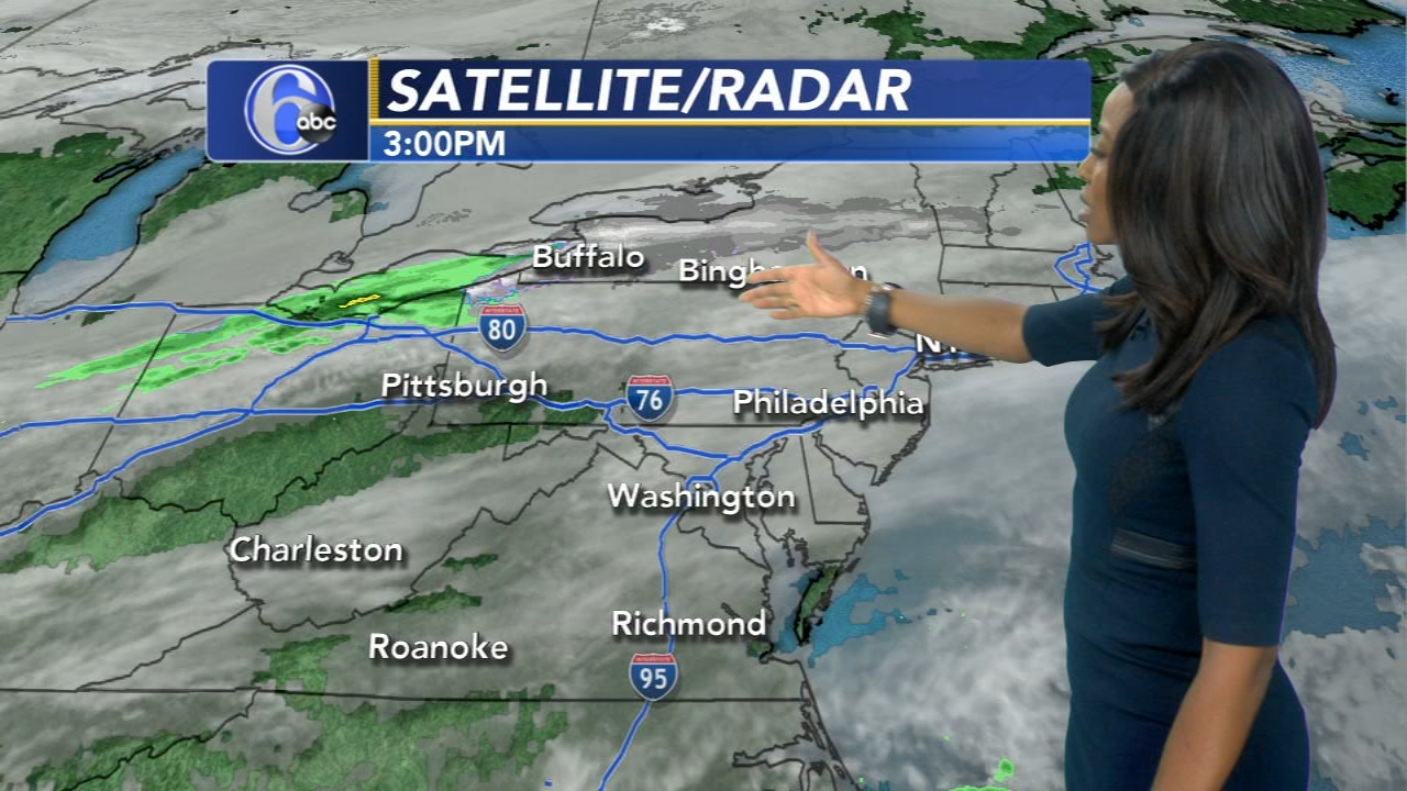 Melissa Magee with AccuWeather on Action News at 6 p.m., November 18, 2018