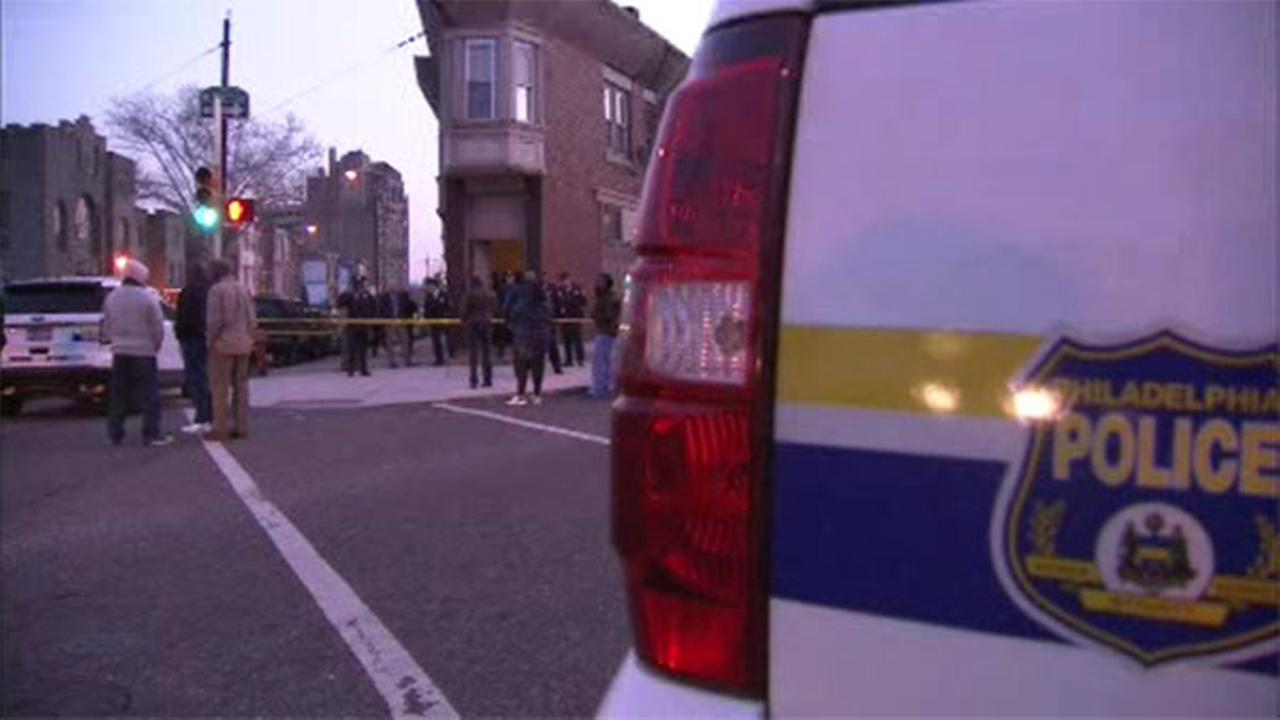 Philadelphia police are investigating a homicide in the citys Tioga-Nicetown section.