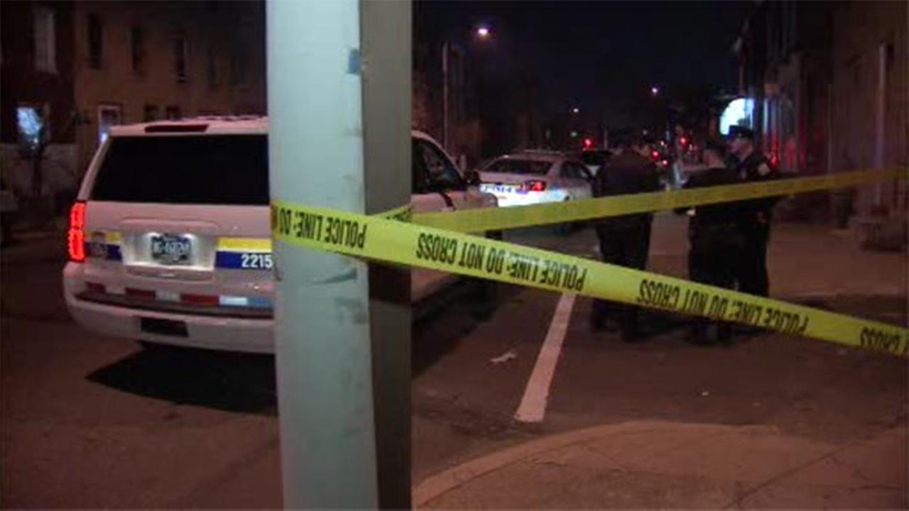 Two men are hospitalized after being shot in Philadelphias Strawberry Mansion section.