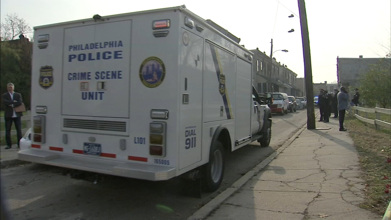 Police are investigating a gruesome discovery in Southwest Philadelphia as reported by Dann Cullar during Action News at 11 on November 19, 2018.