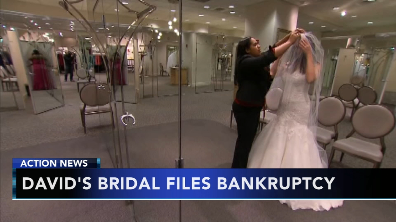 Davids Bridal files for bankruptcy. Rick Williams reports during Action News at Noon on November 19, 2018.