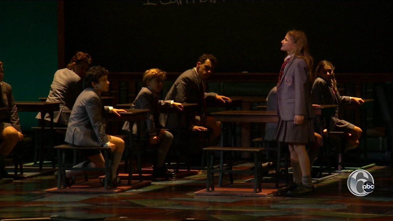 The show Matilda is coming to the Walnut Street Theater.