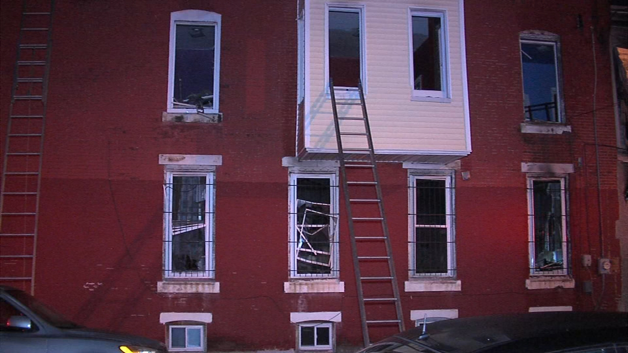 2 injured in Parkside fire. Matt ODonnell reports during Action News Mornings on November 19, 2018.