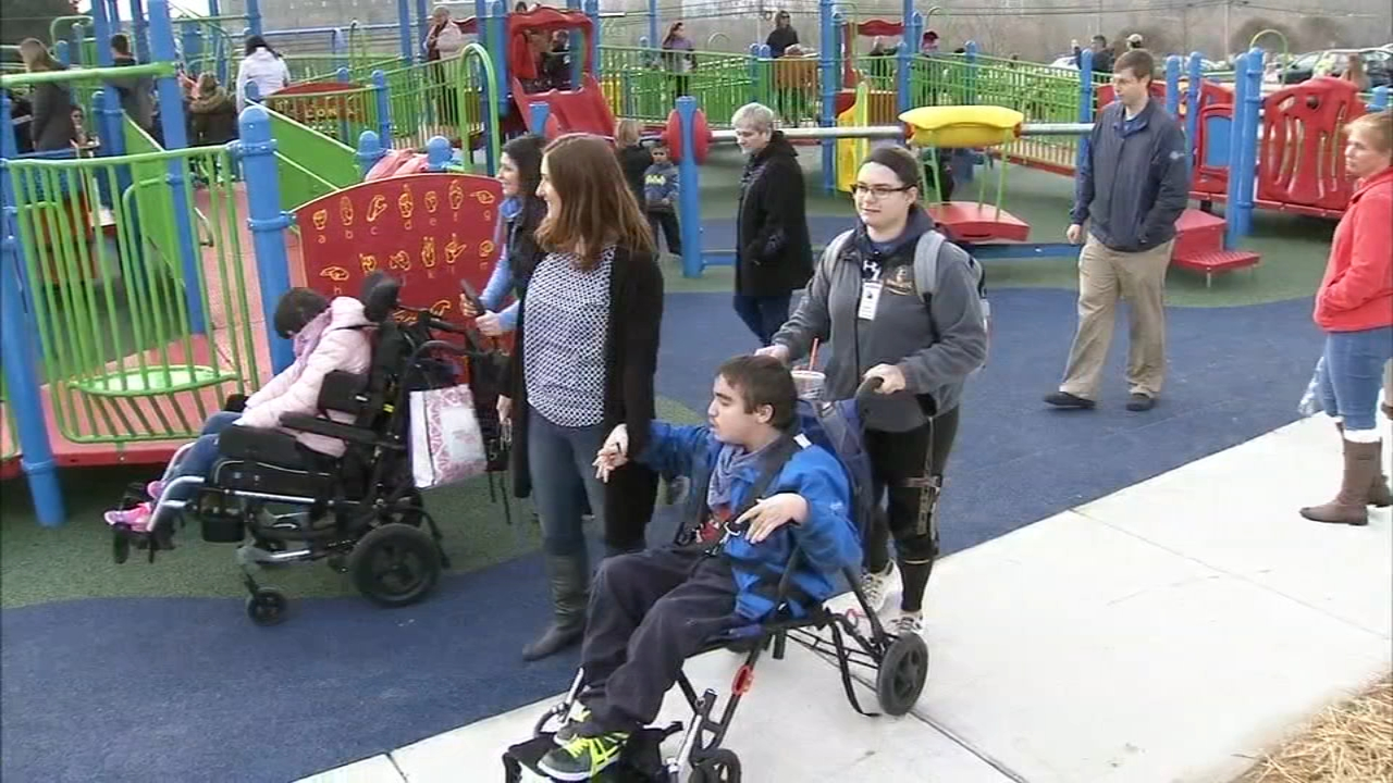 Del. teen with disabilities inspires opening of new accessible playground - Alicia Vitarelli reports during Action News at 4pm on November 19, 2018.