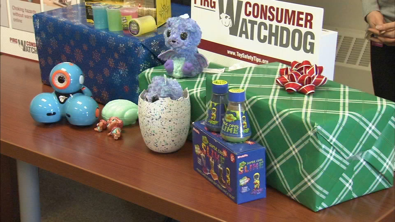 PIRG annual Trouble in Toyland survey. Sharrie Williams reports during Action News at 4:30 p.m. on November 20, 2018.