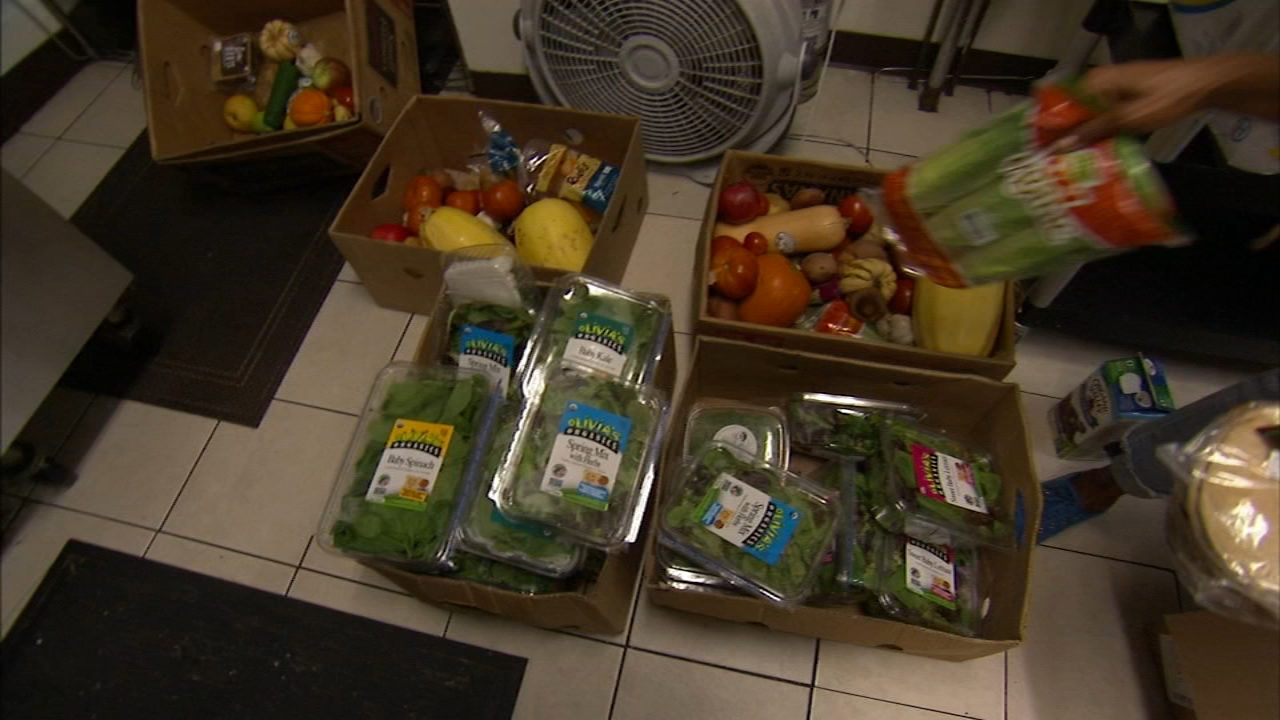 Food Connect App is ready to stop hunger. Tamala Edwards reports during Action News at 5:30 p.m. on November 20, 2018.