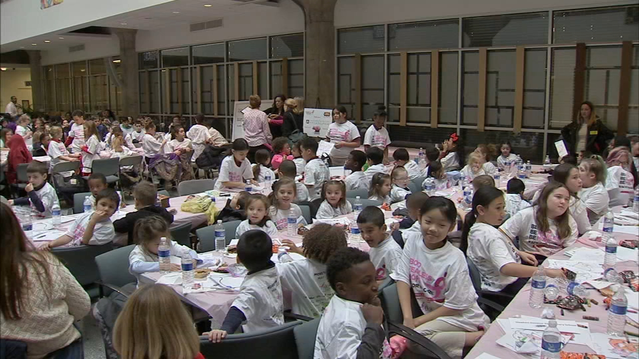 Hundreds of students in Philadelphia celebrated raising more than $12,000 dollars as reported during Action News at 4 on November 20, 2018.