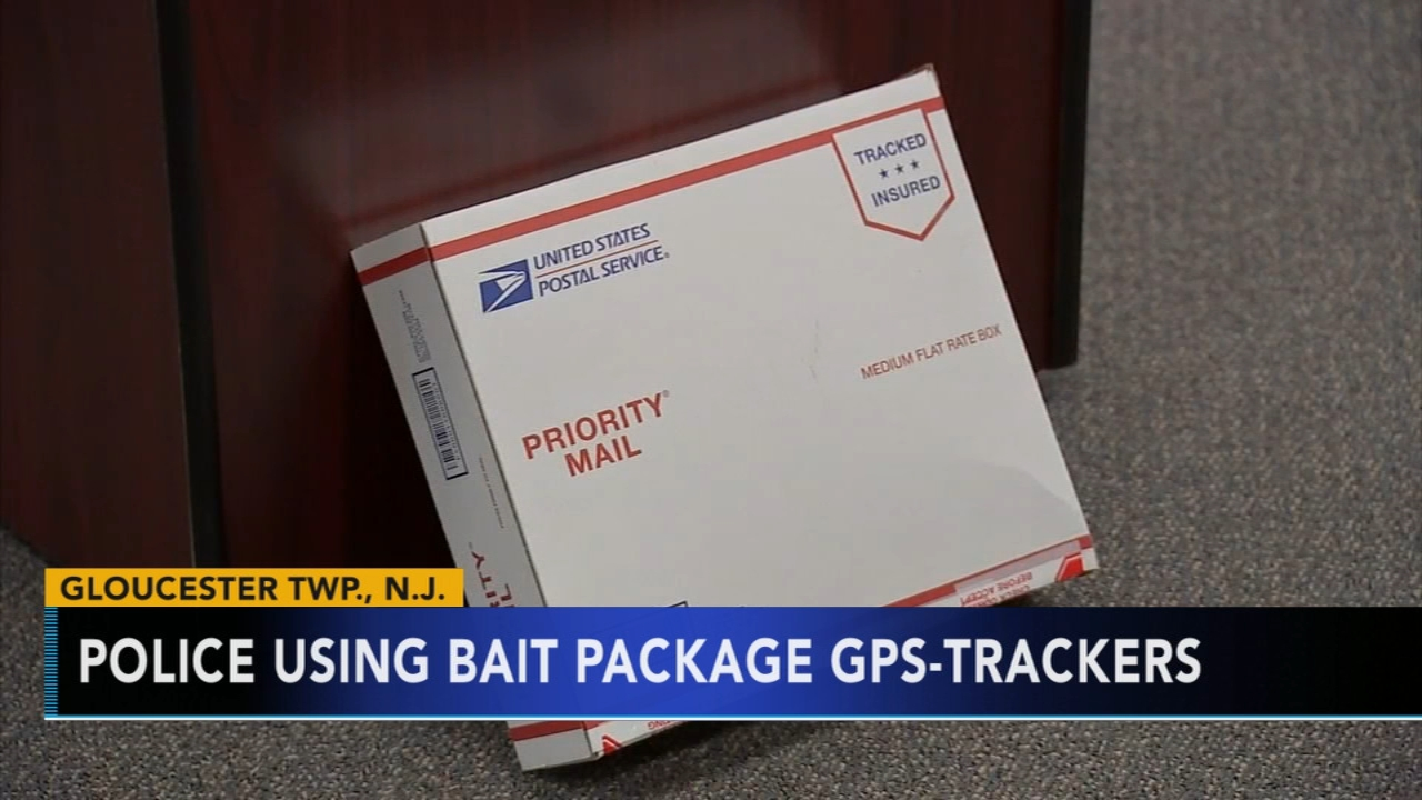 Police using bait package GPS-trackers. Tamala Edwards reports during Action News Mornings on November 20, 2018.