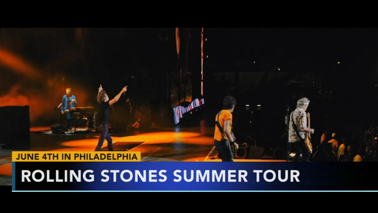 Rolling Stones bringing tour to Philly. Tamala Edwards reports during Action News Mornings on November 20, 2018.