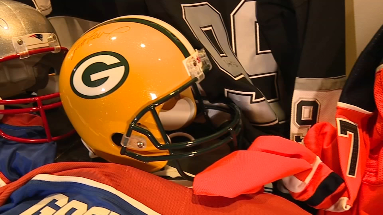 Souderton company accused of selling phony sports memorabilia as reported by Chad Pradelli during Action News at 11 on November 20, 2018