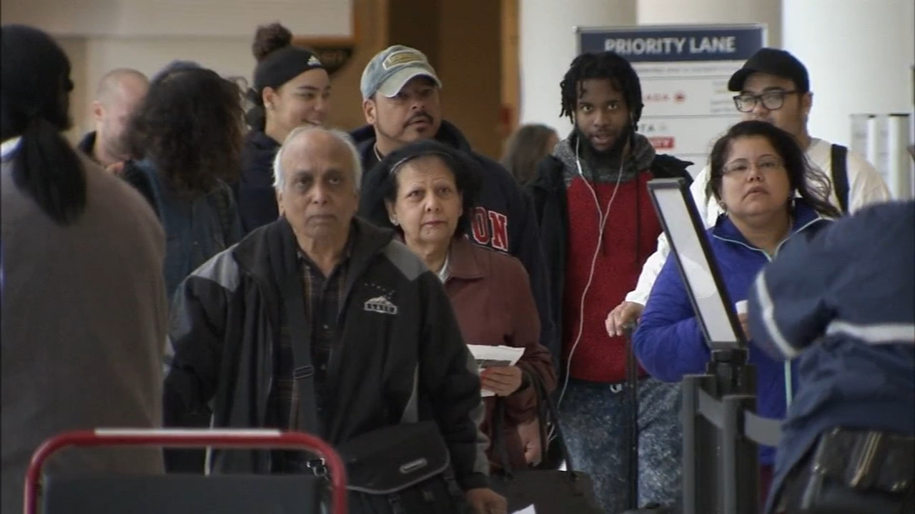 Experts say holiday travel is busier than last year. John Rawlins reports during Action News at 12:30 p.m. on November 20, 2018.