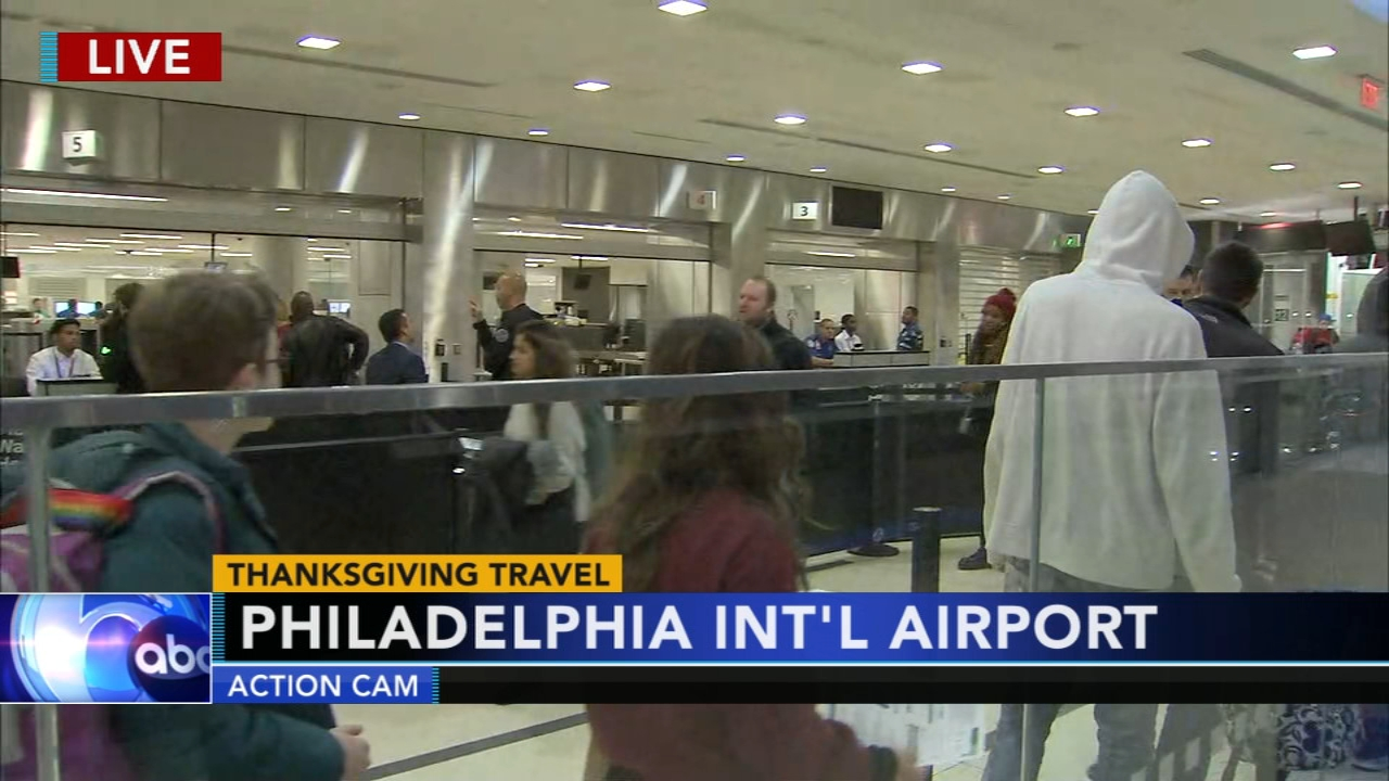 Philadelphia International Airport ready for the holiday travel crowd. Jeannette Reyes reports during Action News at 6 a.m. on November 21, 2018.